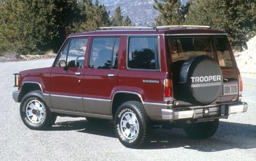 1991 Isuzu Trooper Pictures Trooper Japanese Cars My Ride