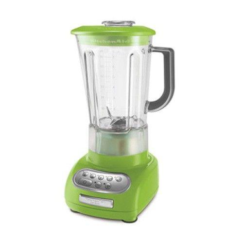 KitchenAid Artisan Blender Apple Green ~Apple Green~ Pinterest - kitchenaid küchenmaschine rot