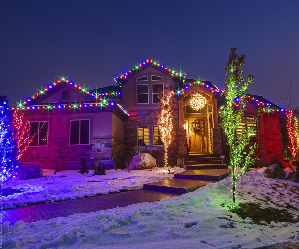 Led Christmas Lights Guide Exterior Christmas Lights Christmas