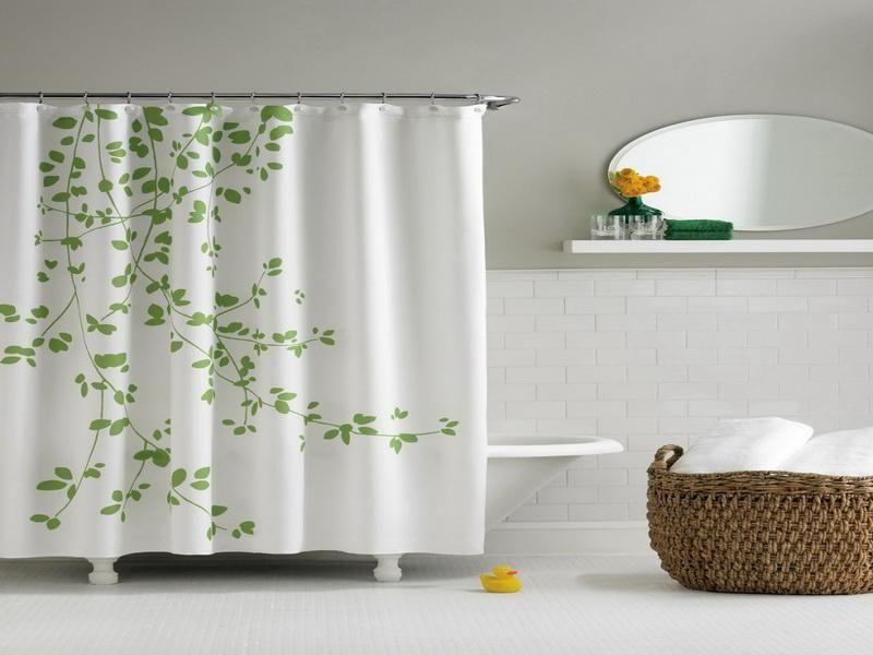 Cool Fabric Shower Curtains Decorating 419697 Bathroom Ideas