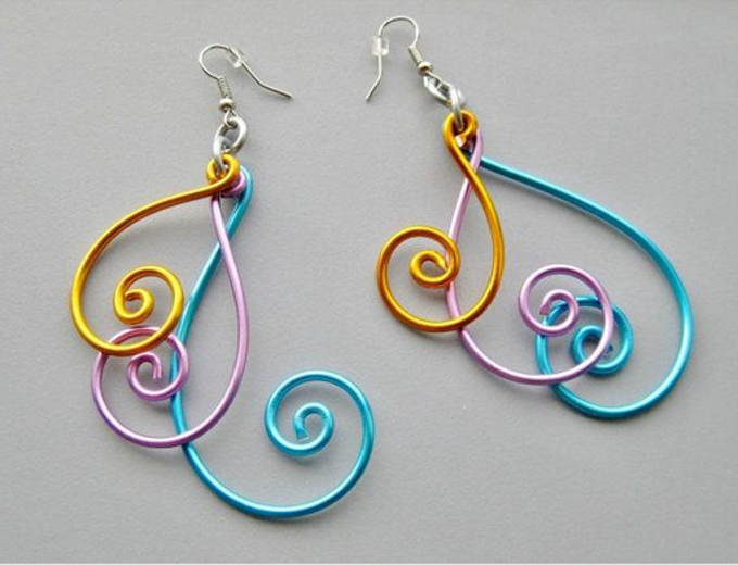 Easy wire earrings pinteres easy wire earrings more solutioingenieria Image collections