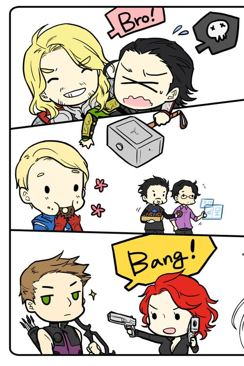The Avengers & Loki, getting along or not...