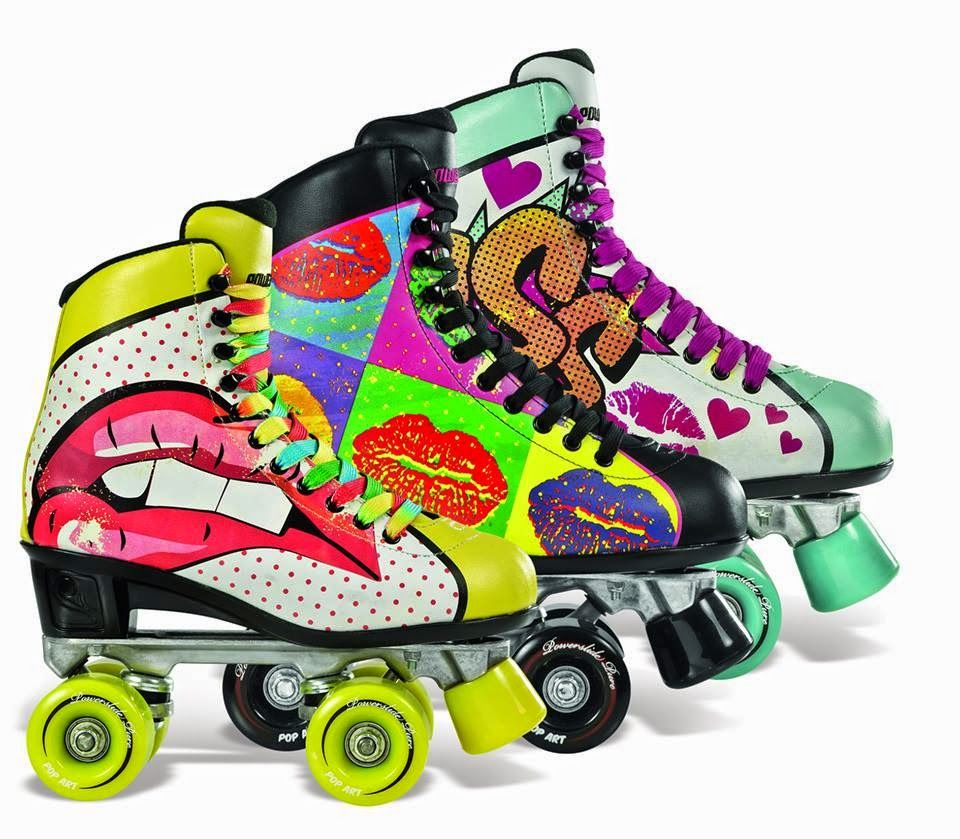 Powerslide Quad Skates: Patins Powerslide Art Pop ♥