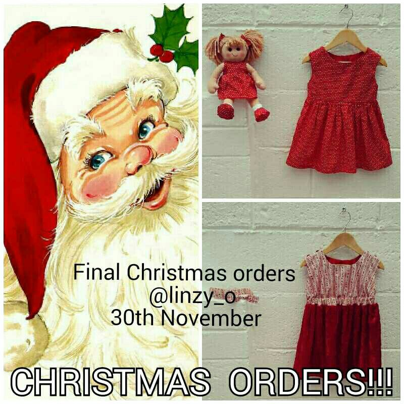 With the order book filling up fast our last Christmas orders will be taken on 30th November , don't forget you little princesse's matching ragdoll for under the tree