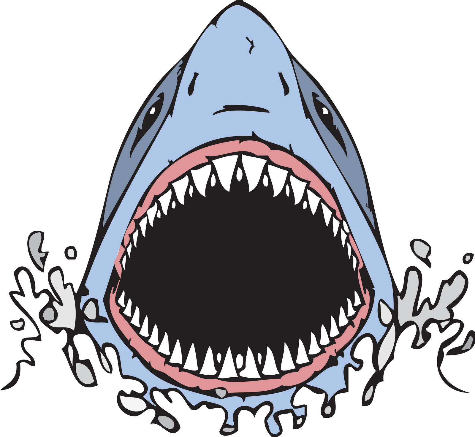 Shark Mouth Drawing Posted By Jones At 10 39 Am Shark Drawing Open Mouth Drawing Shark Mouth Open