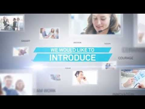 Company Profile Sample - After Effect Template - YouTube Шаблоны - it company profile template