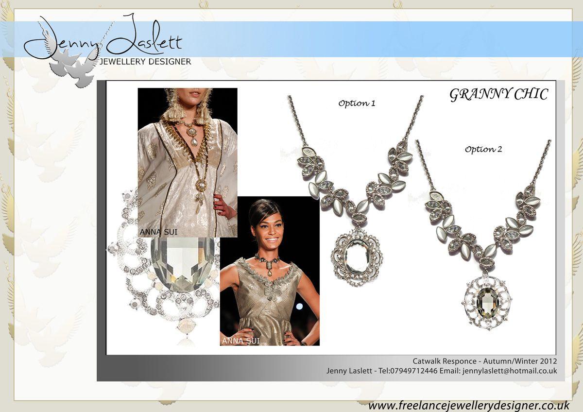 Design Freelance Jewellery Designer Jenny Laslett UK