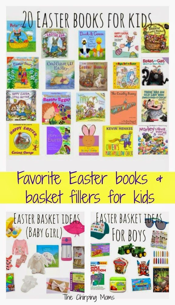 Favorite easter basket ideas and easter books for kids easter favorite easter basket gift ideas and easter books for kids the chirping moms negle Choice Image