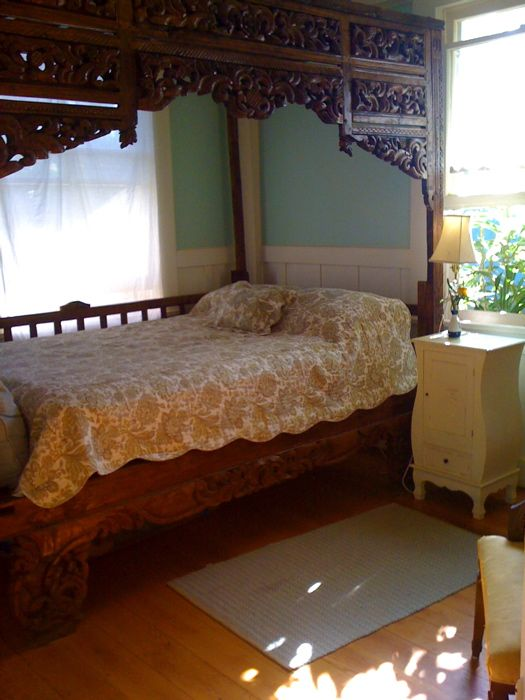 San Sebastian Bed Breakfast Far Out Inn Cottage Bedroom Home Decor Floral Bedding