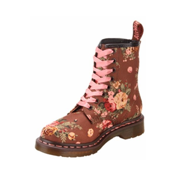 Zelen Shoes Dr. Martens R11821260 8 Eyelet 1460 With Taupe