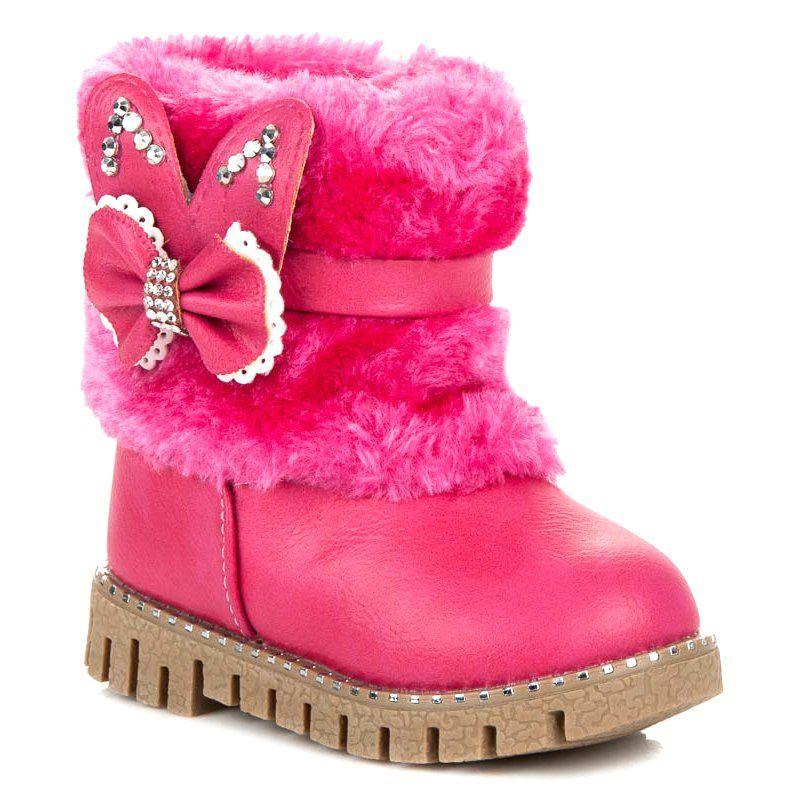 Ocieplane Kozaki Dla Dziewczynki Rozowe Boots Ugg Boots Uggs
