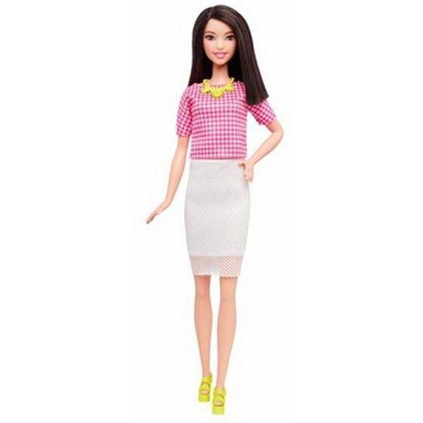 Barbie é reformulada e ganha três novos modelos; confira ❤ liked on Polyvore featuring barbie