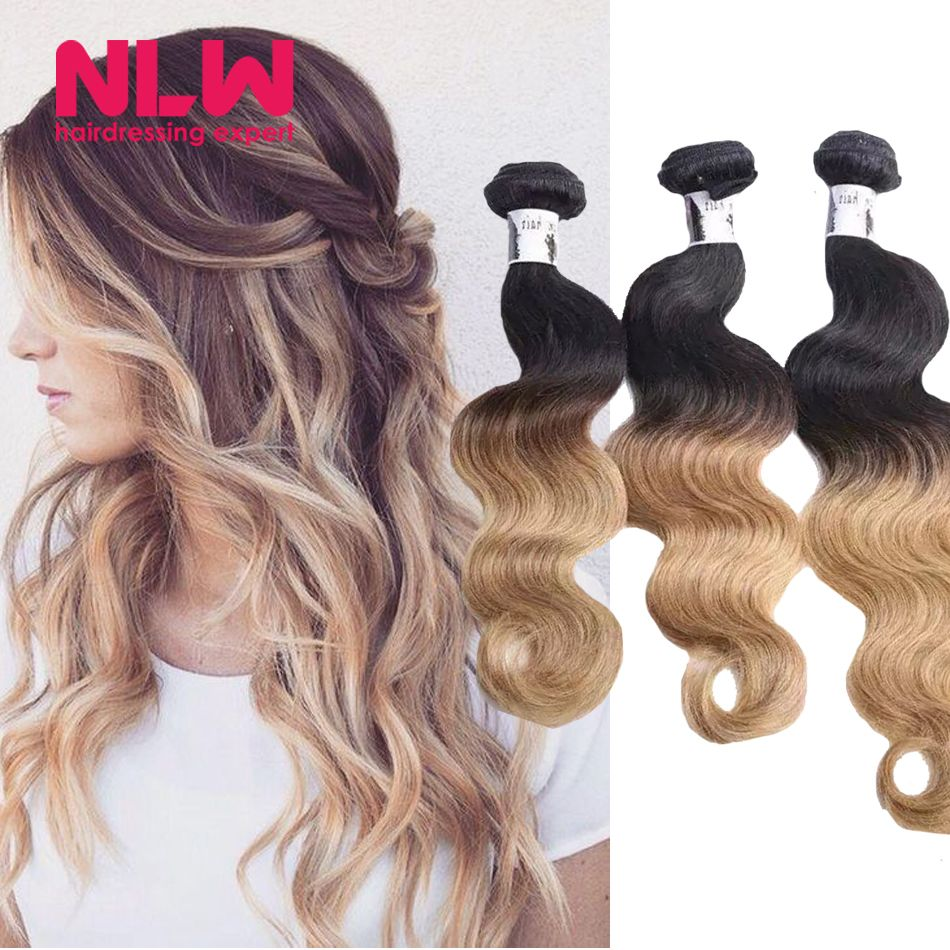 Aliexpress.com : Buy Ombre Brazilian Hair Girls Beauty Plus 8A Virgin Human Hair Body Wave Hair Weave 3 Bundles Free Ship Shiny Ombre Human Hair Full from Reliable hair removal for sensitive skin suppliers on NLWHair Store