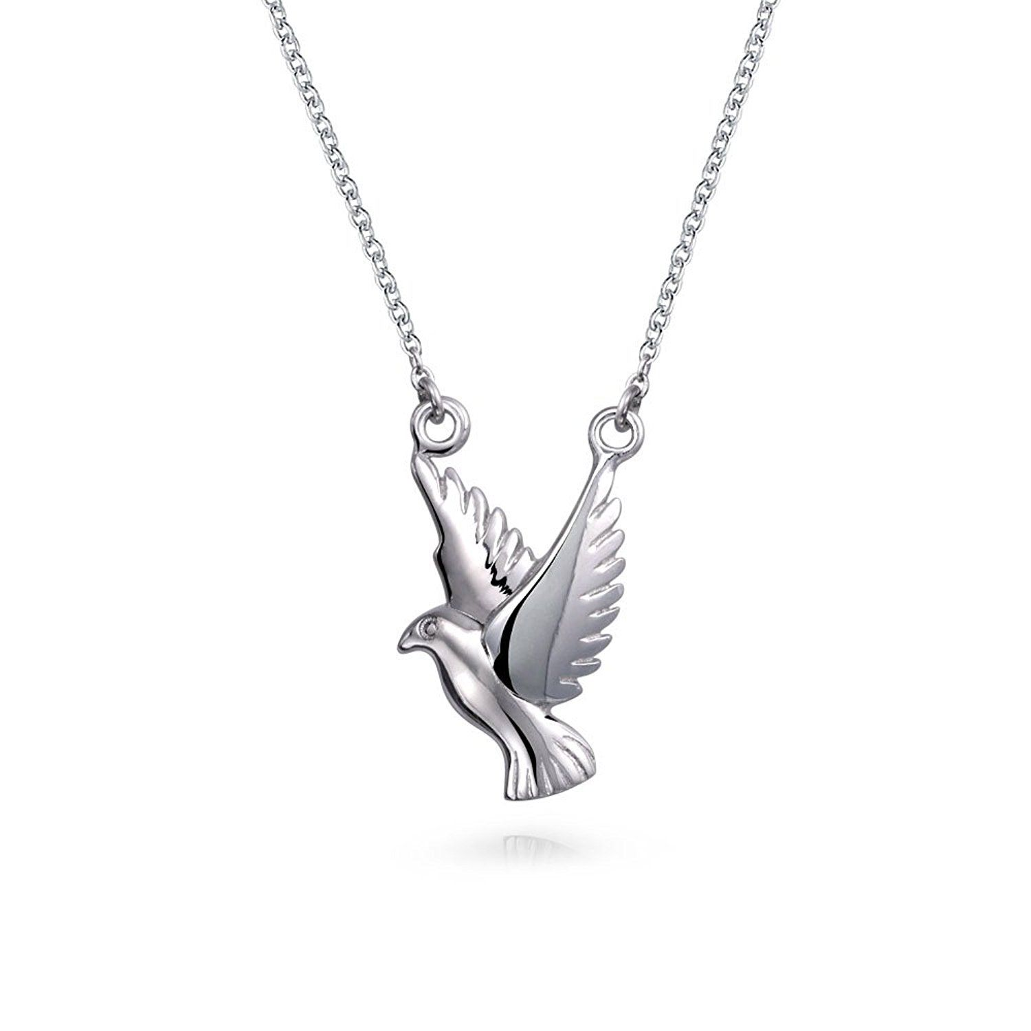 product avelina pendant silver jewelry dove