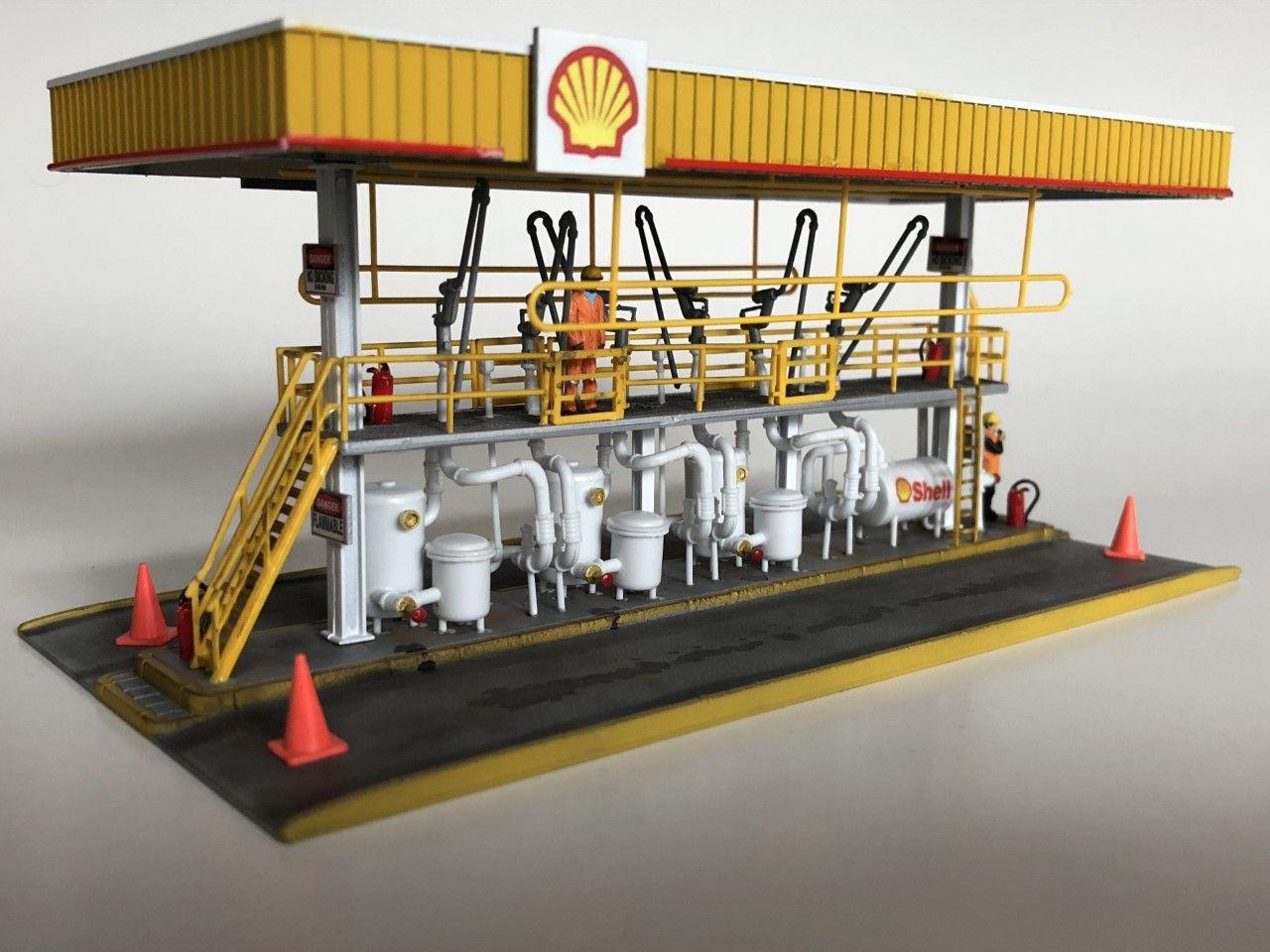 Plaforme pétrolière Shell 1/87 | model railroads | Ho model