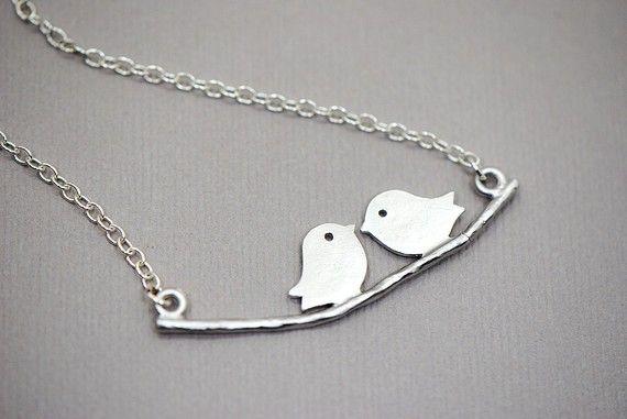 Adorable bird necklace