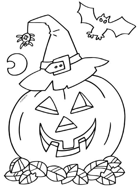 Kleurplaten Halloween Google Zoeken Children S Holiday Coloring