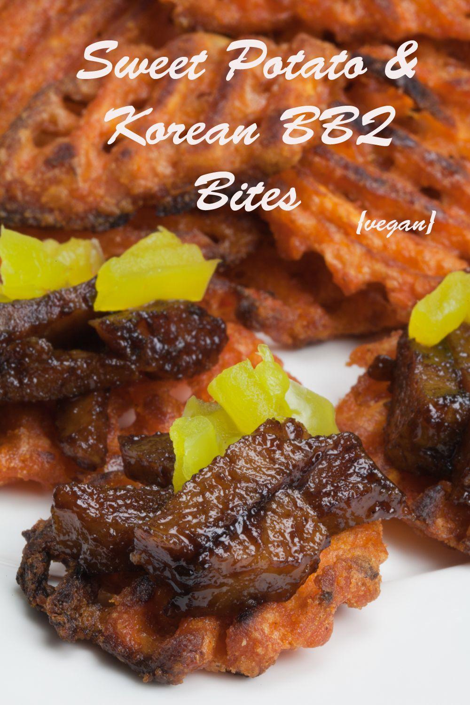 Vegan sweet potato and korean bbq bites vegan appetizers vegan sweet potato and korean bbq bites forumfinder Image collections