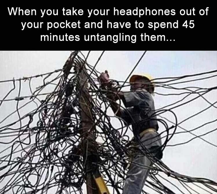 Tangled Wires | Pinterest | Tangled and Funny pictures