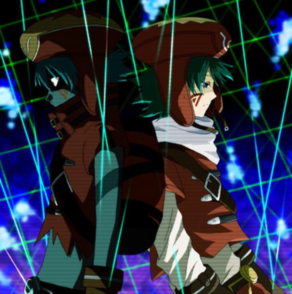 Azure Flame Kite + Kite Anime, Dot hack, Art