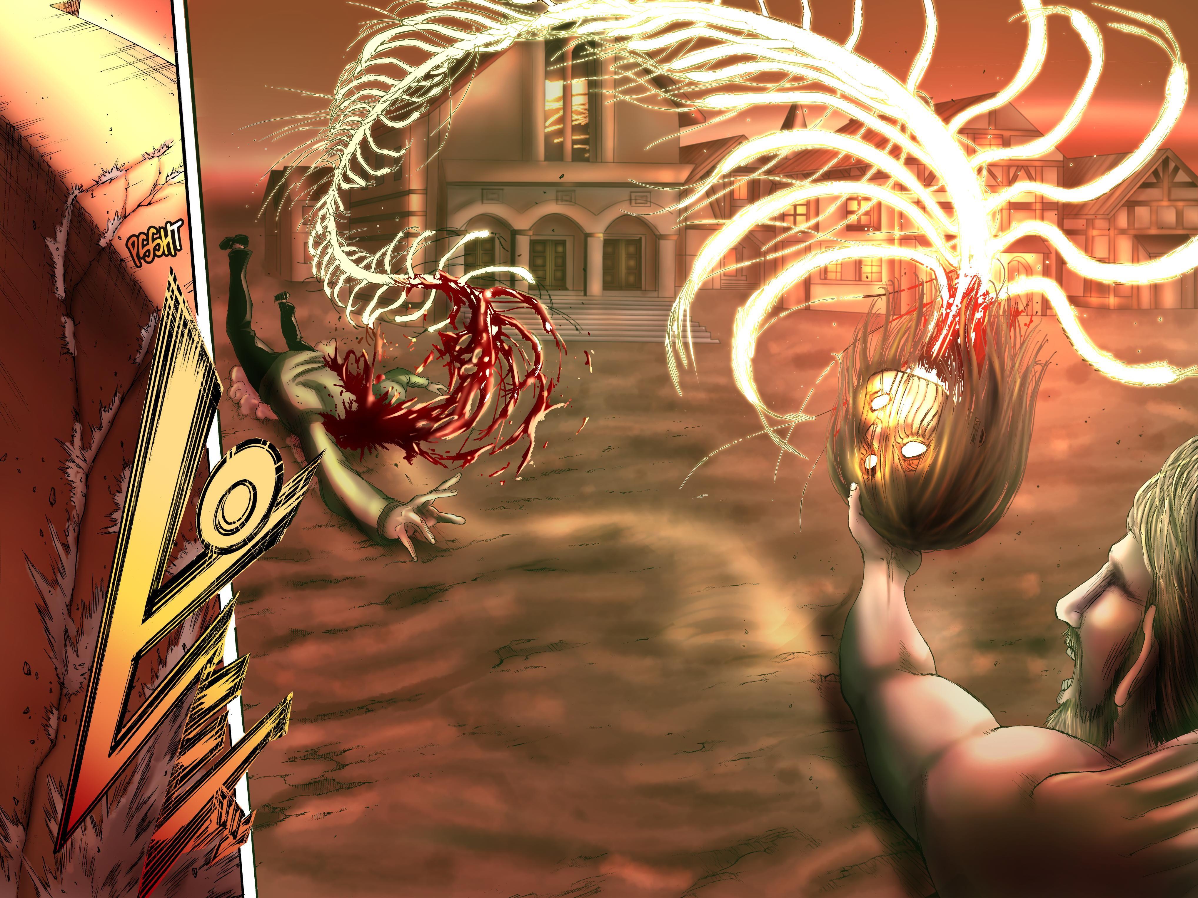 Shingeki No Kyojin Colored Chapter 122 Attack On Titan Anime Attack On Titan Fanart Attack On Titan Art