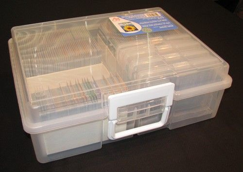 Ordinaire Using Iris Photo Storage Boxes (Michaelu0027s Stores) And Included Photo Cases  For Organizing Games. Use Those Coupons! U003c3 ETA: Also, Could Probably Store  A Ton ...