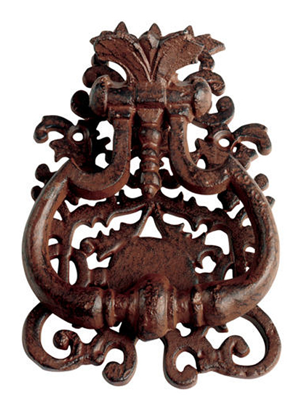 Classic Iron Door Knocker | For the Home | Pinterest | Doors