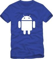 2014 Summer New Men's Android T-shirts Short Sleeve Hiphop Skateboard Android T shirts