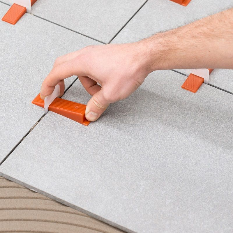 Rusoji 1 8 Inch Wide Tile Spacers For Spacing Of Floor Or Wall Tiles 600 Pcs Ad Tile Ad Spacers Wide Rusoji Tile Spacers Wall Tiles Flooring