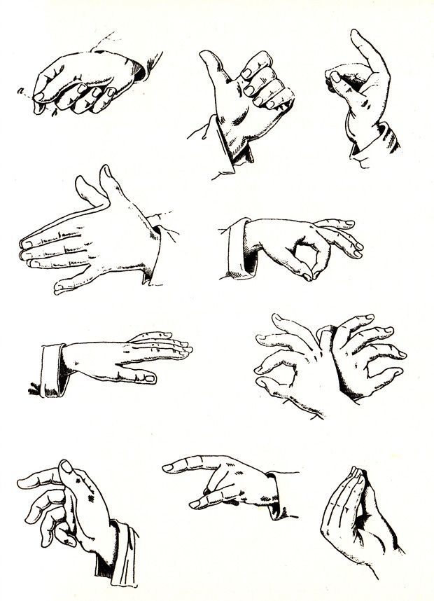 The Fine Art Of Italian Hand Gestures A Vintage Visual Dictionary