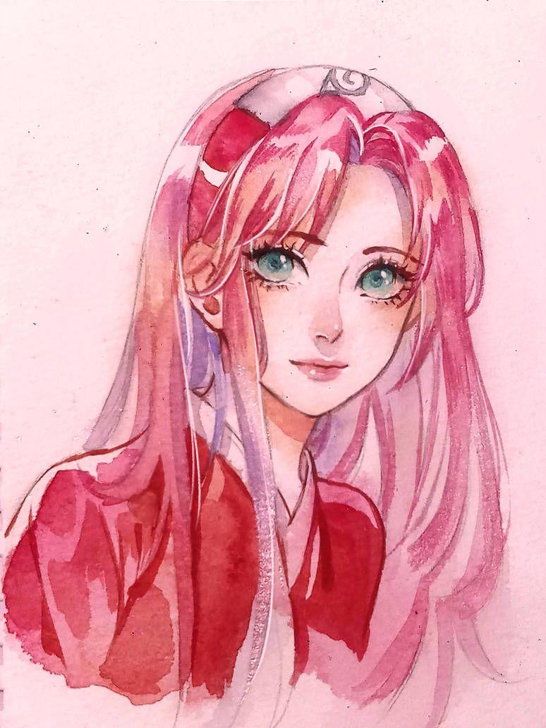 Photo of Haruno Sakura fanart by DoMyzu on DeviantArt