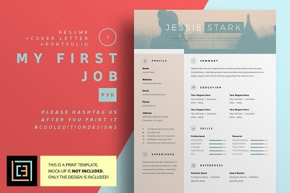 Myfirstjob  Resume V By Cooledition On MywpthemesXyz  Best