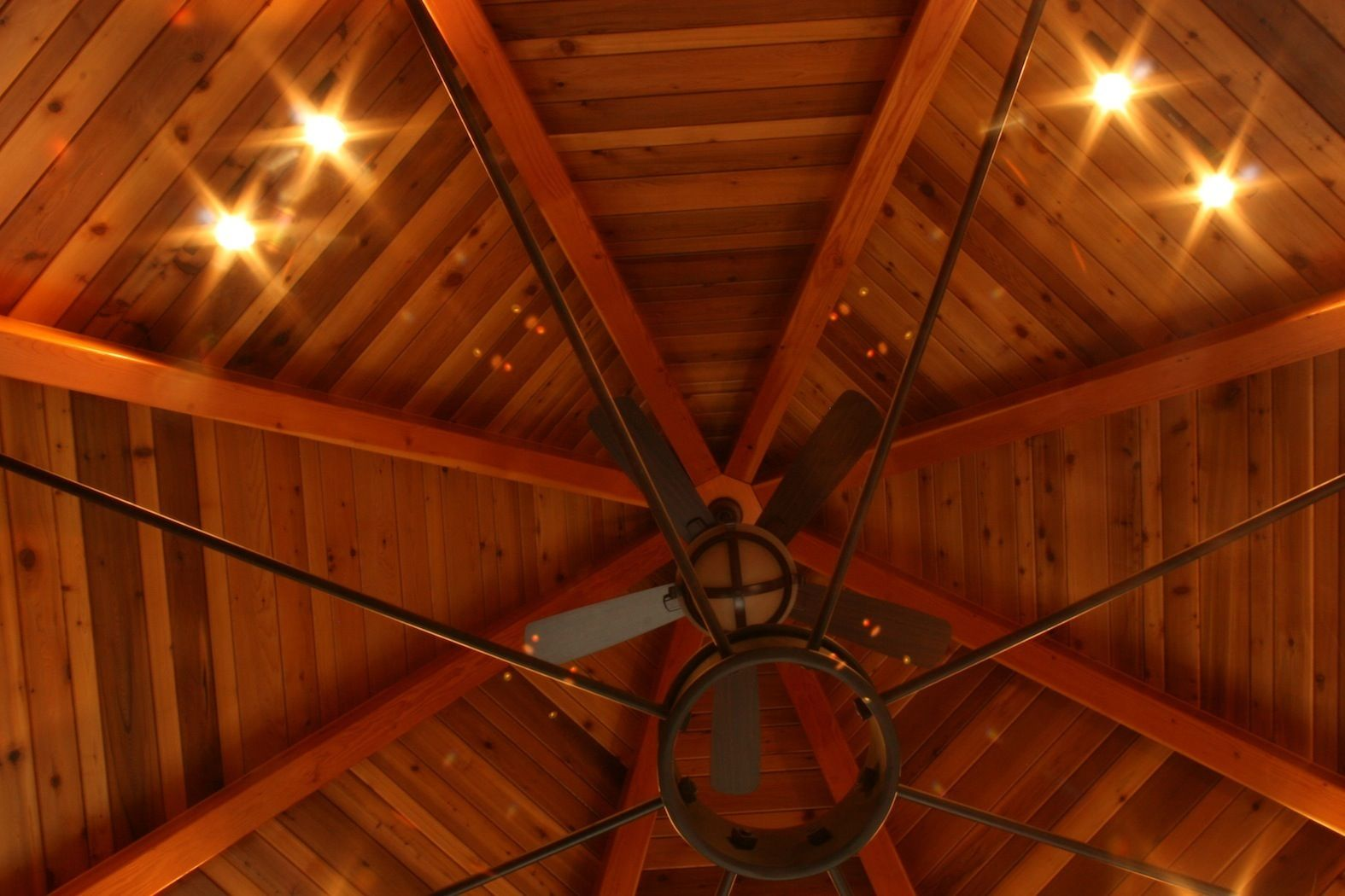 This Picture Is Actually Of A Sunroom Ceiling In A Custom Home We Built The Beams Are Doug Fir And The V Groove Material Is Made Of Ced Dream Home Pinte