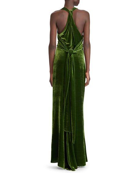 Ralph Lauren Collection 50th Anniversary Perla Cowl-Neck