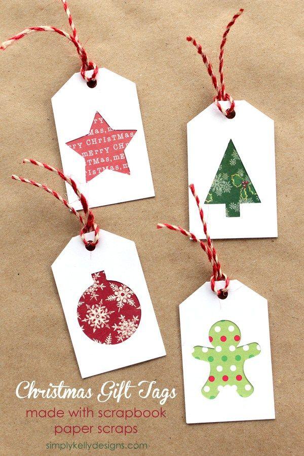 Free diy christmas gift tags