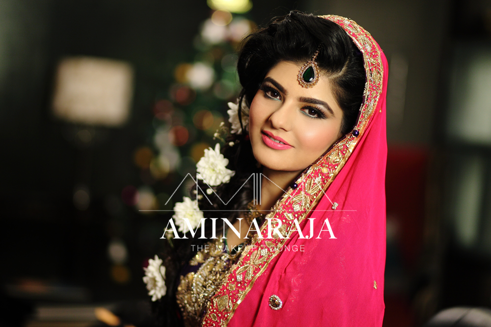 Mehndi Night Makeup : Soft makeup for beautiful maham on her mehndi by amina