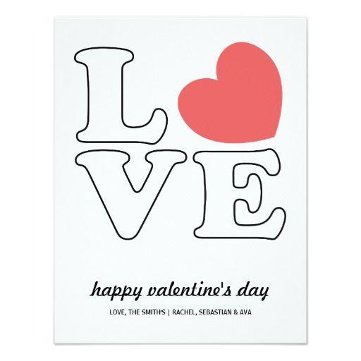 Love Outline Valentine S Day Card Gl Pinterest Outlines