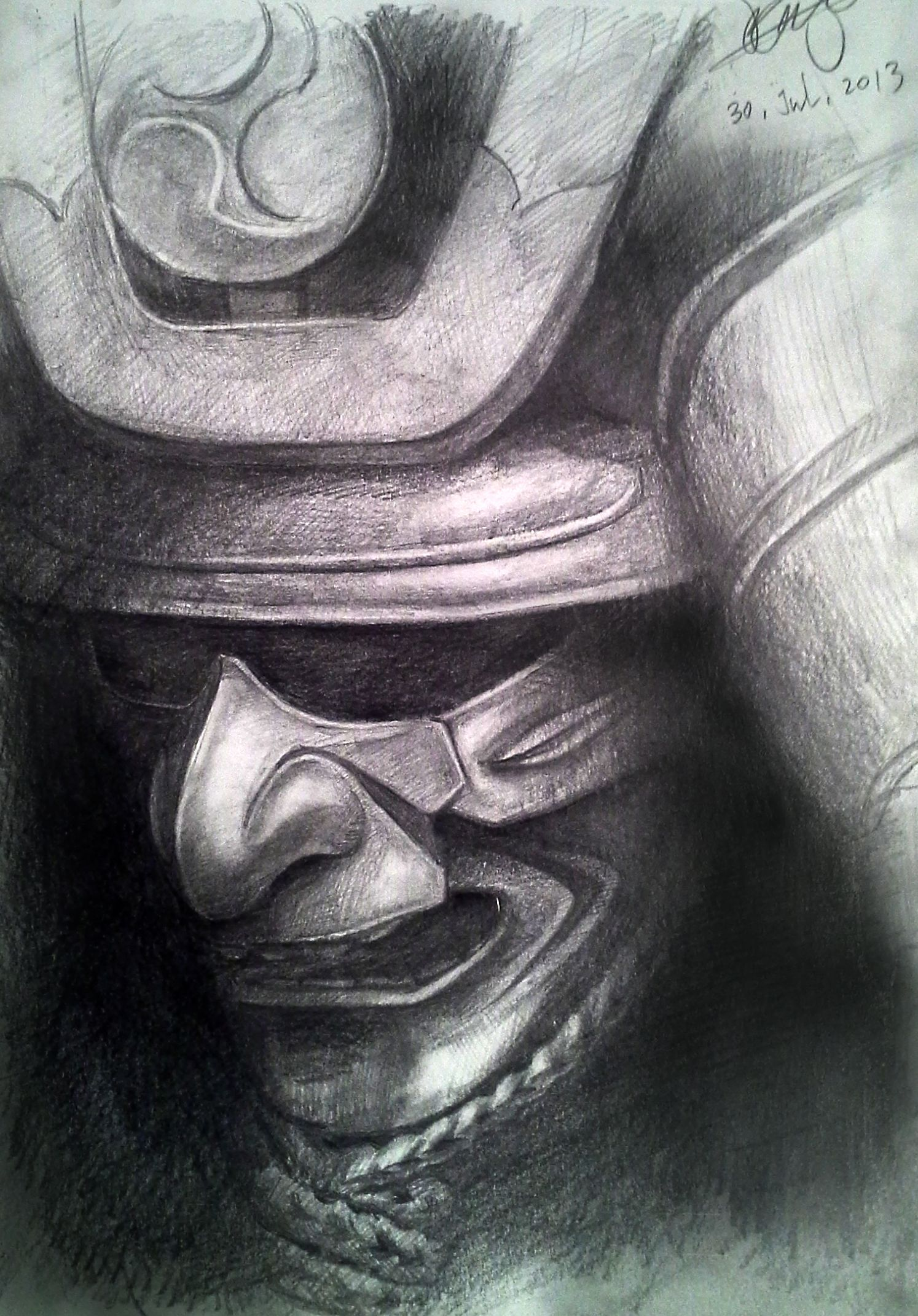my samurai armor drawing | Samurai Art | Pinterest ...