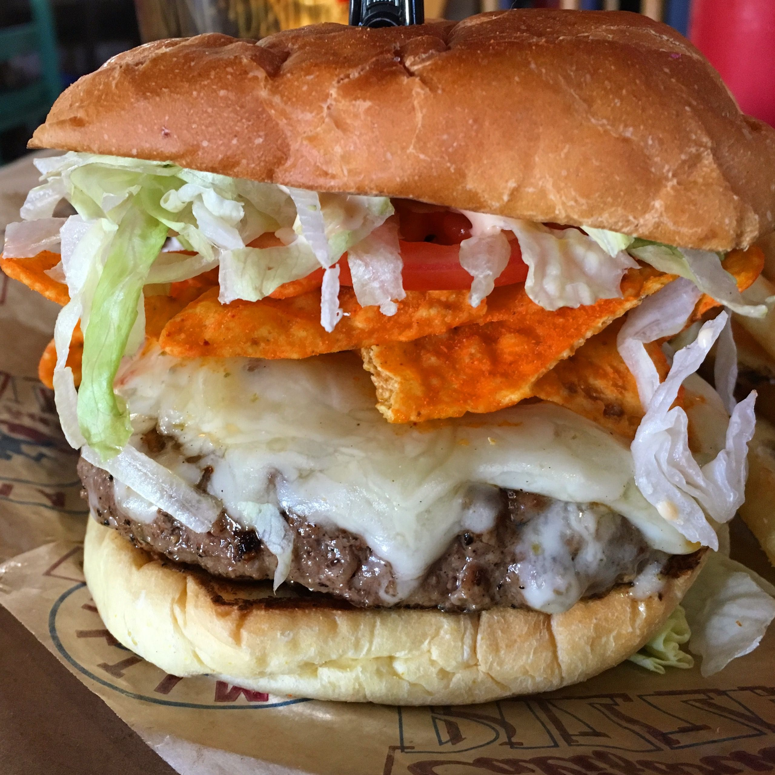 River City Cafe Blended Burger Nacho Burger Recipes Nacho Burger