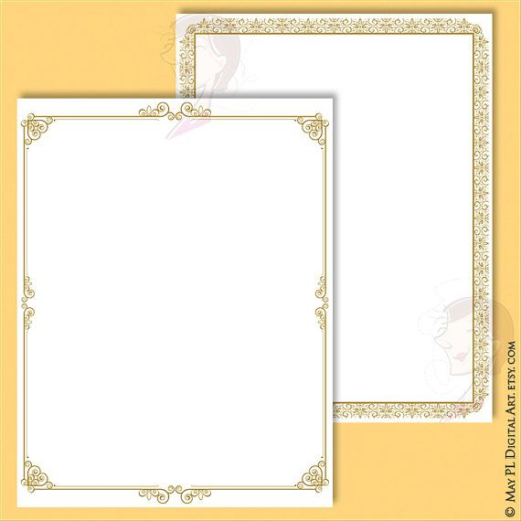 certificate borders clipart french