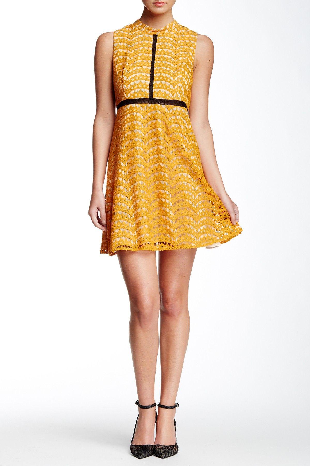 Lace Babydoll Dress by ABS by Allen Schwartz on @nordstrom_rack