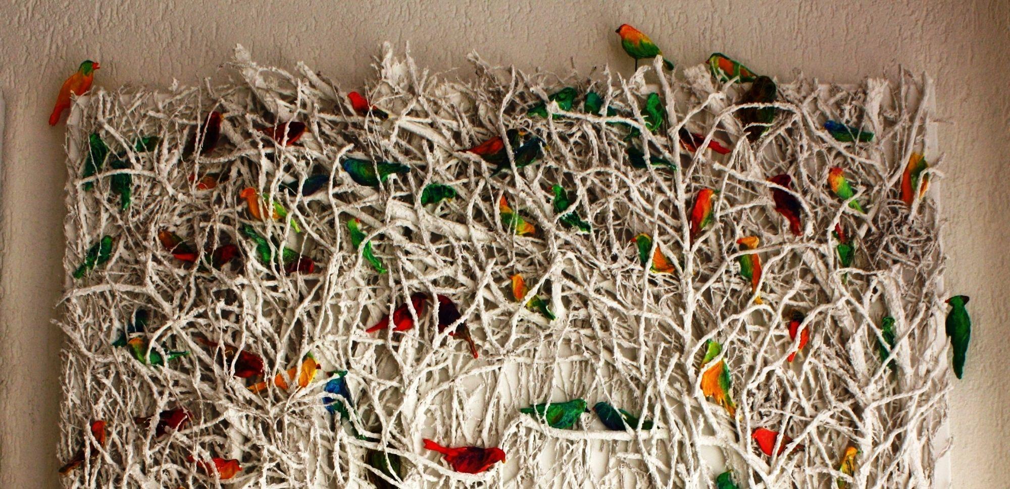 Vogelschwarm Detail
