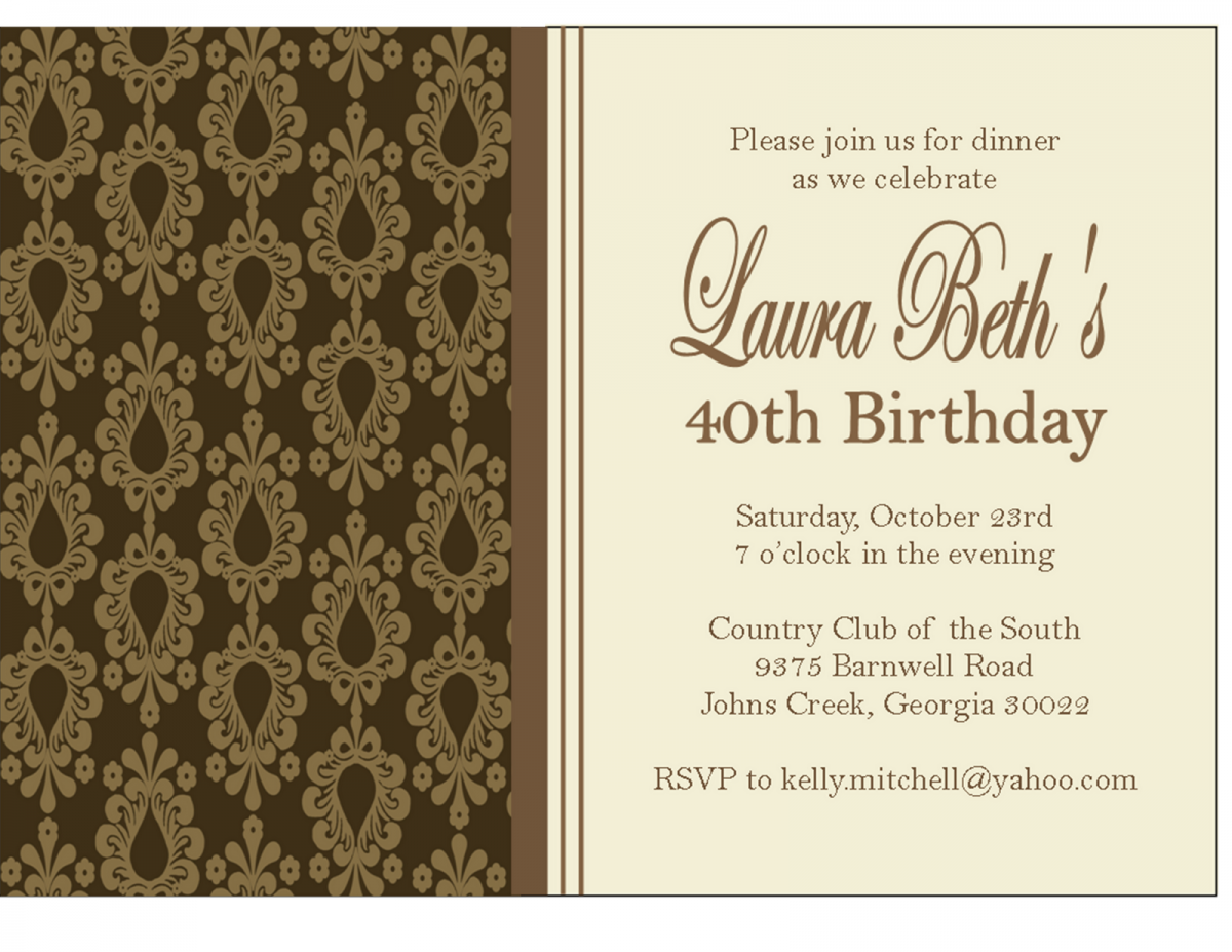 Dinner party invitation sample butterfly wedding invitations dinner party invitation sample butterfly wedding invitations birthday dinner invitation samples birthday dinner invitation stopboris Gallery