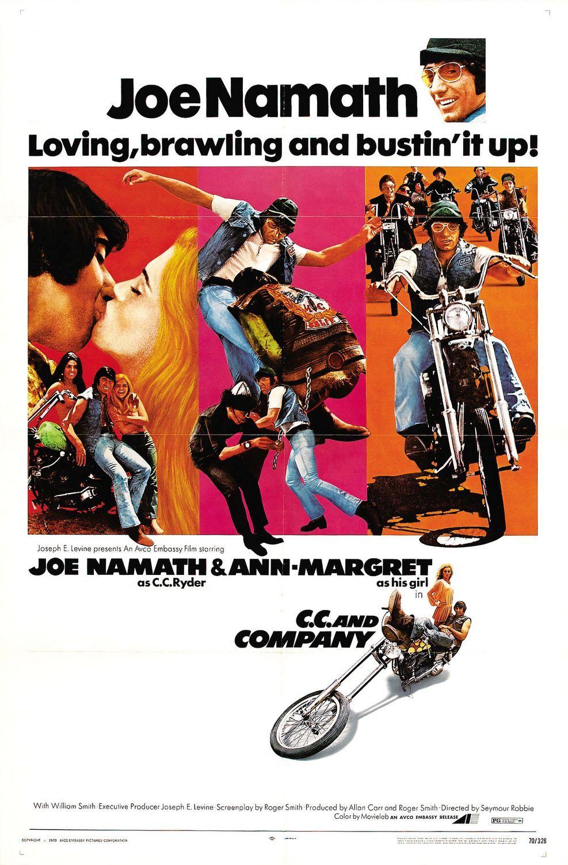 Cc and company seymour robbie 1970 biker movies joe