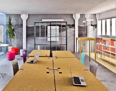 "Check out new work on my @Behance portfolio: ""Coworking+Aceleradora 