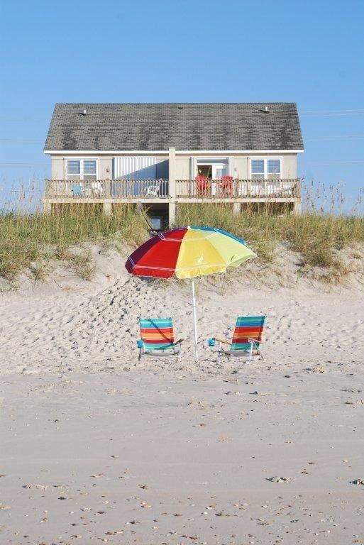 North Topsail Beach Vacation Al Vrbo 493339 3 Br Island House In Nc Sea La Vie Oceanfront Duplex 3br Alcove W Qbed 2 5 Ba