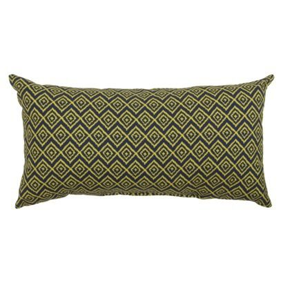 Threshold Outdoor Lumbar Pillow in Navy available at