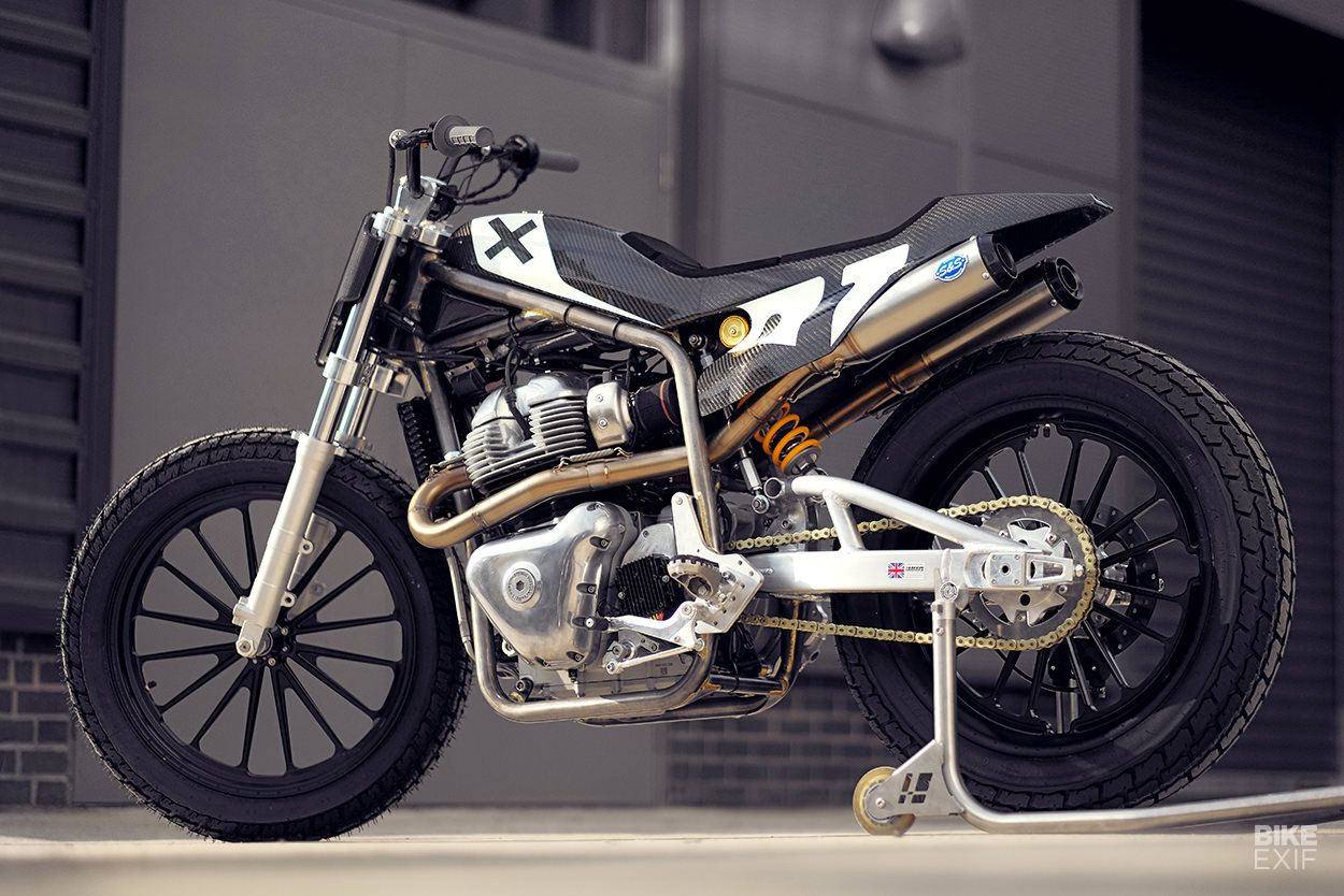 Photo of 'Twins FT': A Royal Enfield x Harris flat tracker