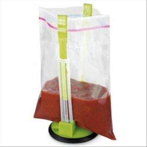 Freezer bag holder
