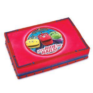 Chuggington Train Edible Image Cake Topper Birthday Party Supplies